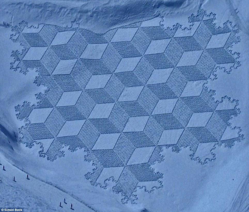 Круги на снегу