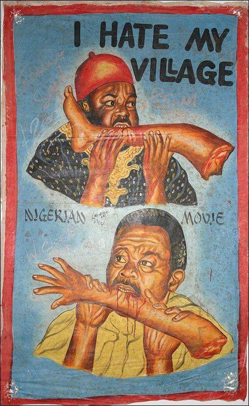 Забавные афиши из Африки