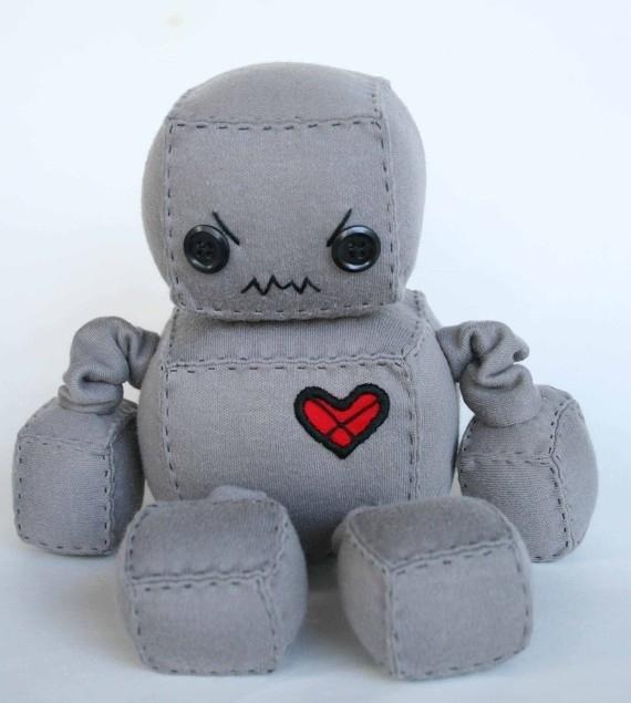 Забавные Плюшевые Роботы