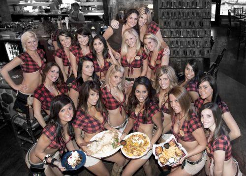 Девушки ресторана Твин Пикс