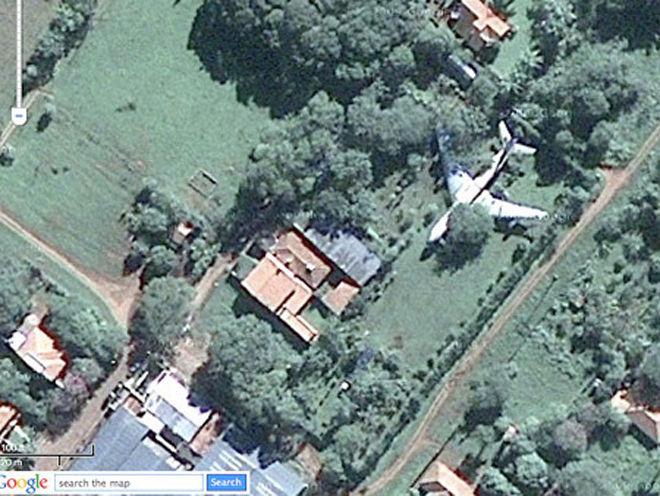 Странные фото с Google Maps