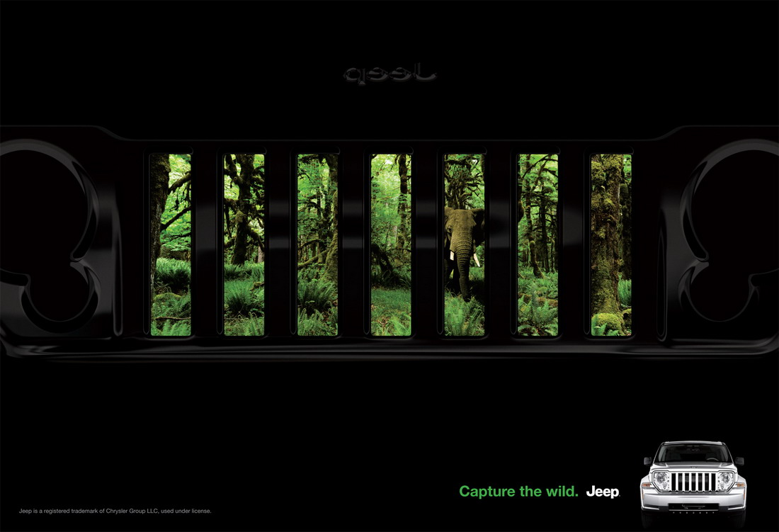 Забавные рекламные постеры