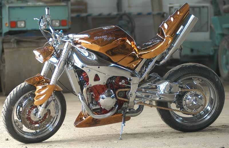 Мотоциклы в Стиле Streetfighter