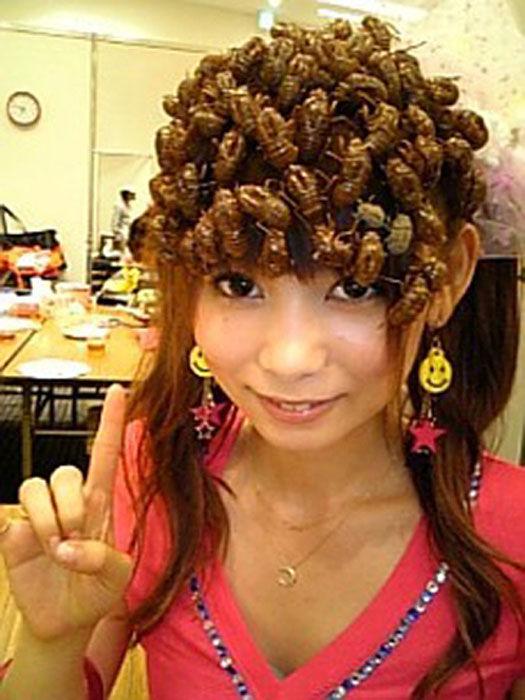 Странные азиатские Прически