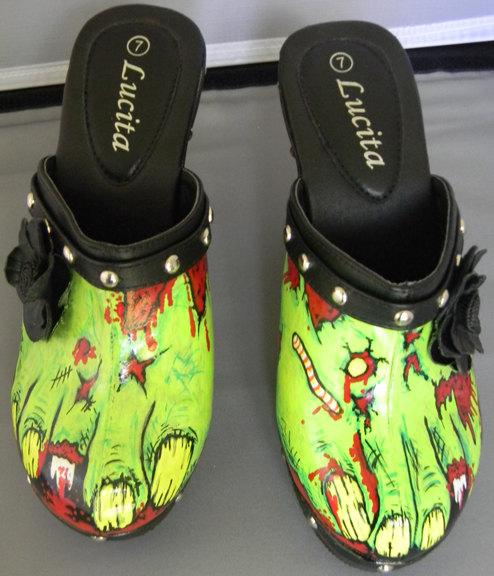 Уникальная и Раскрашенная вручную Обувь