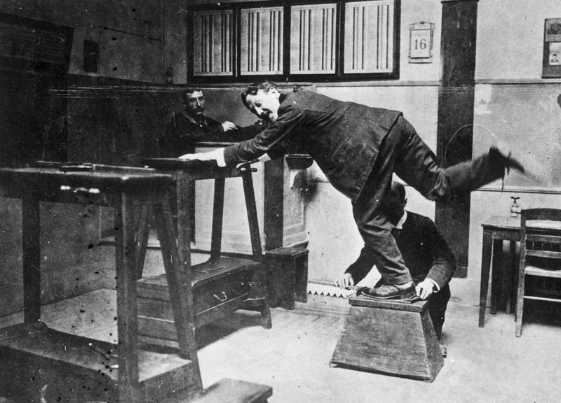 Полицейские в начале 20-ого столетия