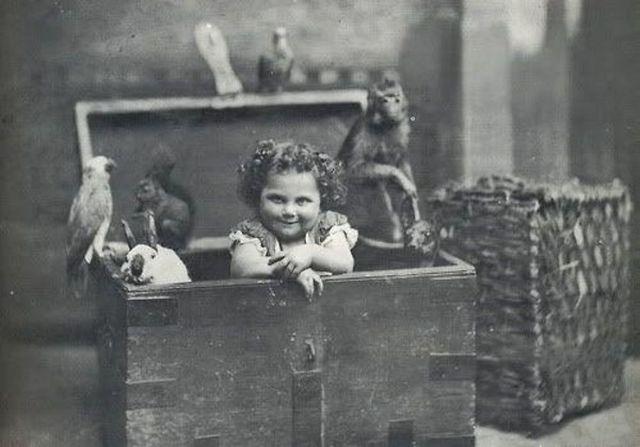 Забавные Ретро фотографии Детей