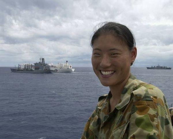 Девушки в Вооруженных силах разных стран