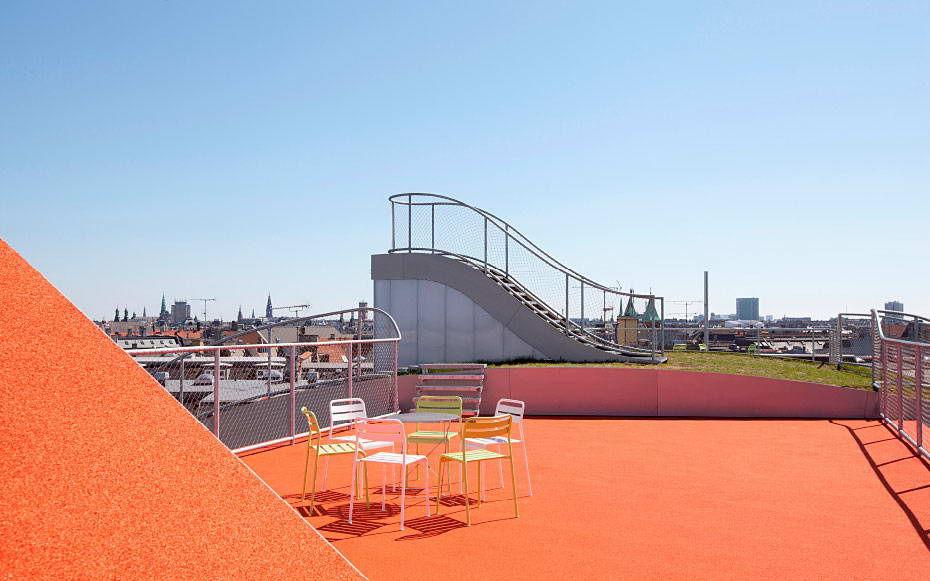 Детская Площадка на Крыше