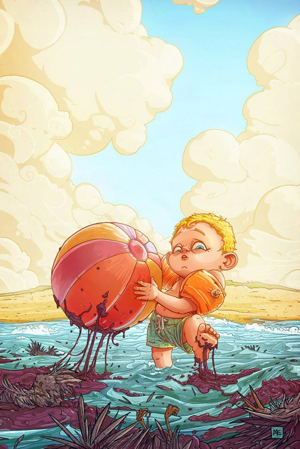 Иллюстрации Майкла Джейкана