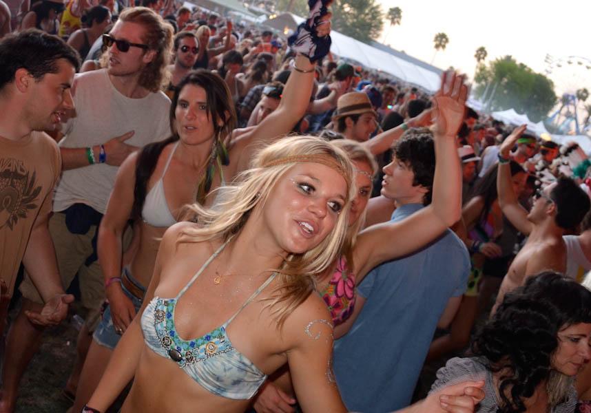 Девушки с Coachella 2012
