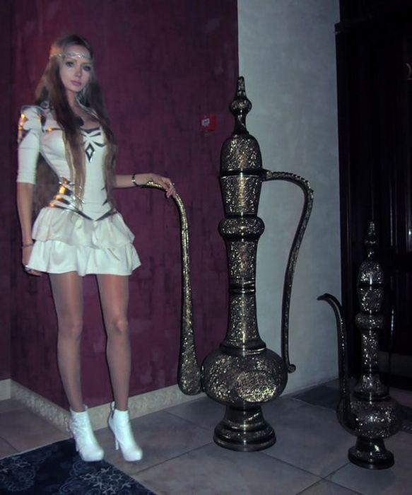 Очередная живая кукла