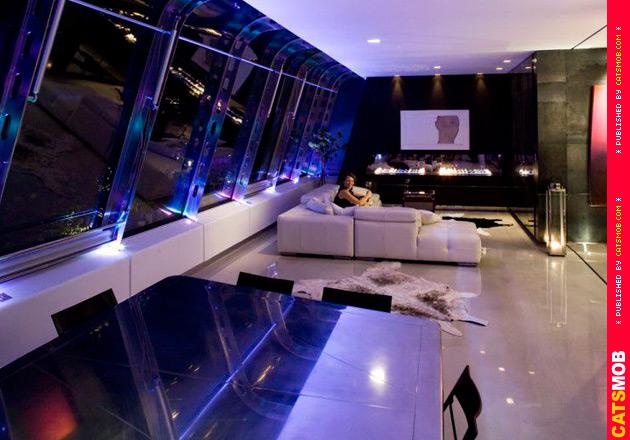 Невероятный Стеклянный Пентхаус в Лондоне