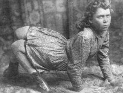Актеры цирка-паноптикума из прошлого