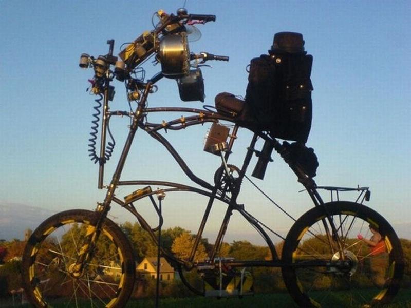 Самые причудливые Велосипеды