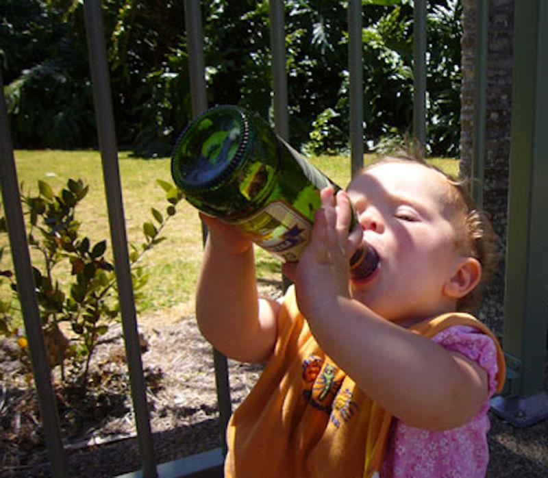 Алкоголь и Дети