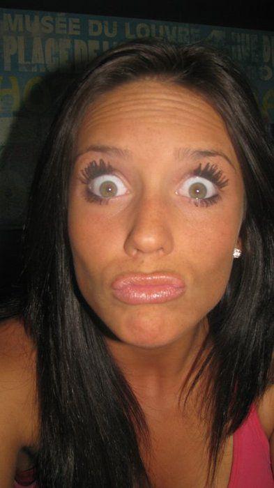 Самые Нелепые Duckfaces фото