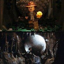 Популярные фильмы в Lego