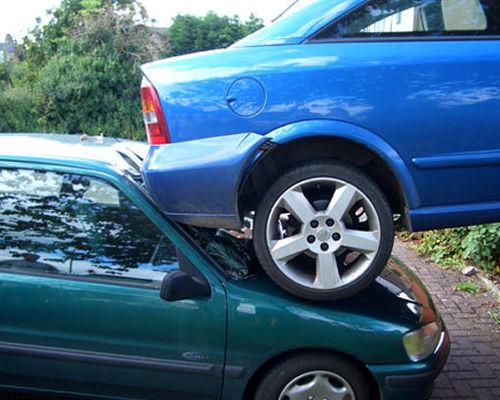 Как не нужно парковать свой автомобиль