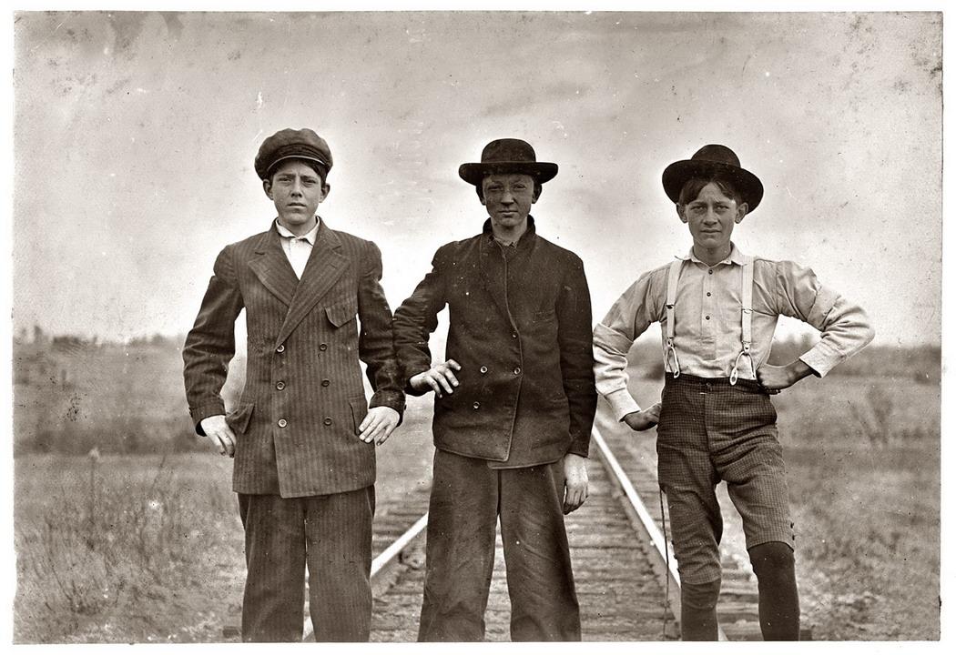 Дети Америки 1900-1930