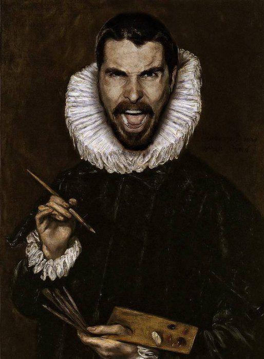 Классические Картины и Современные Знаменитости