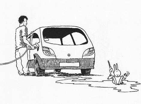 Самоубийства кролика