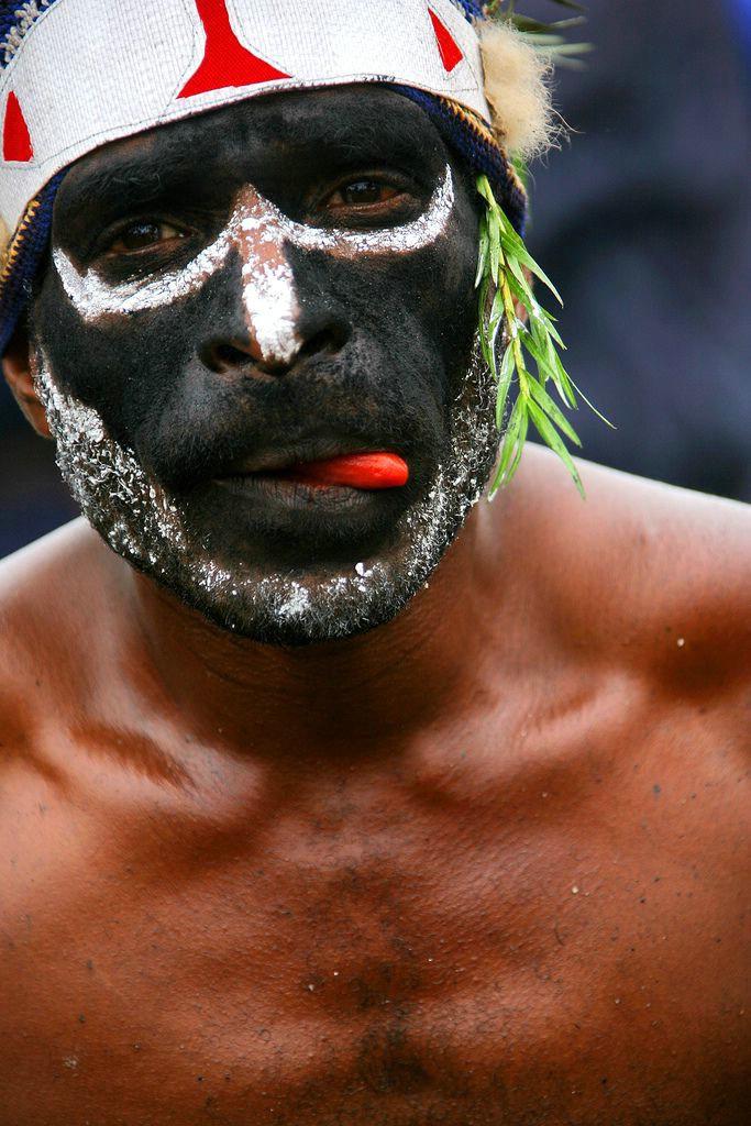 Люди Папуа - Новая Гвинея