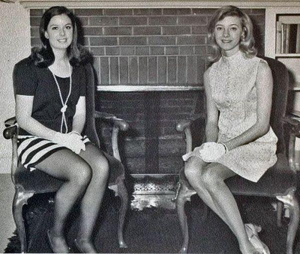 Витнажные Мини-юбки