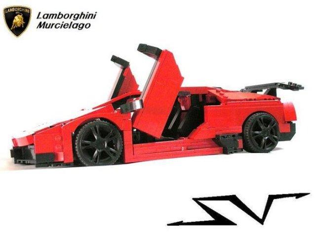 LEGO автомобили