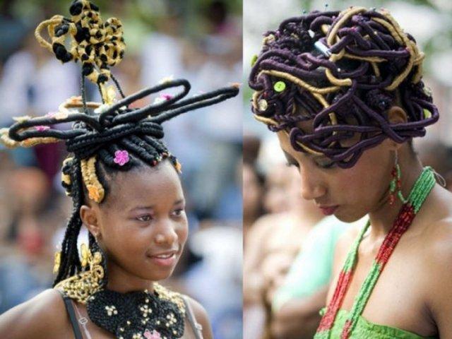 Афро прически
