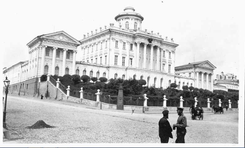 Москва 1909-го года