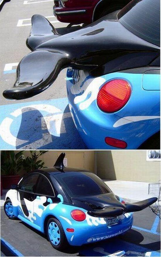 Необычный тюнинг автомобилей