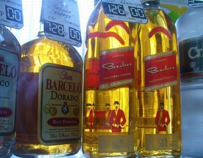 Китайские фейки на товары известных брендов