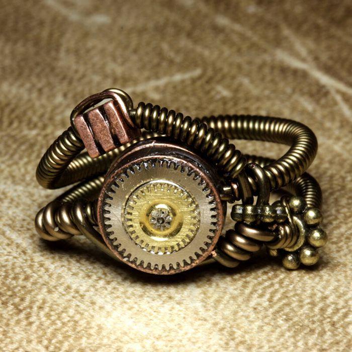 Удивительные украшения в стиле Стимпанк