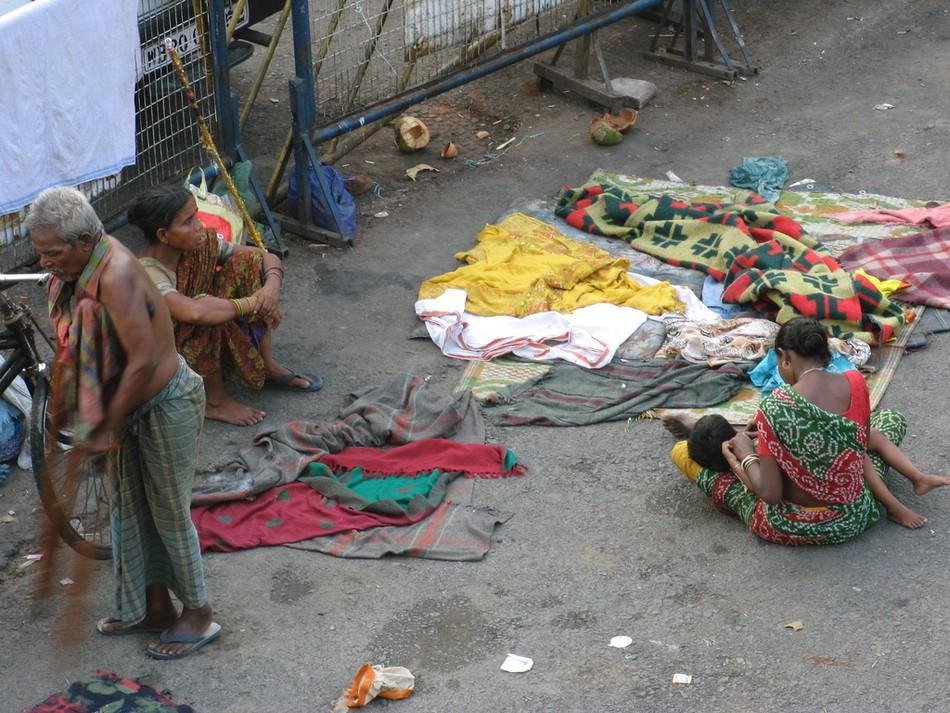 Индийская улица