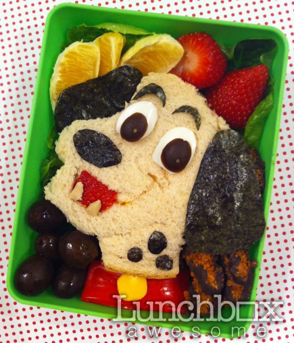 Забавная Еда для школьного завтрака