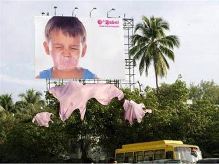 Рекламные щиты, которые точно завладеют вашим вниманием