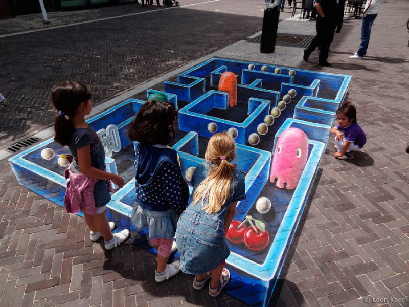 ������������ 3D Street Painting