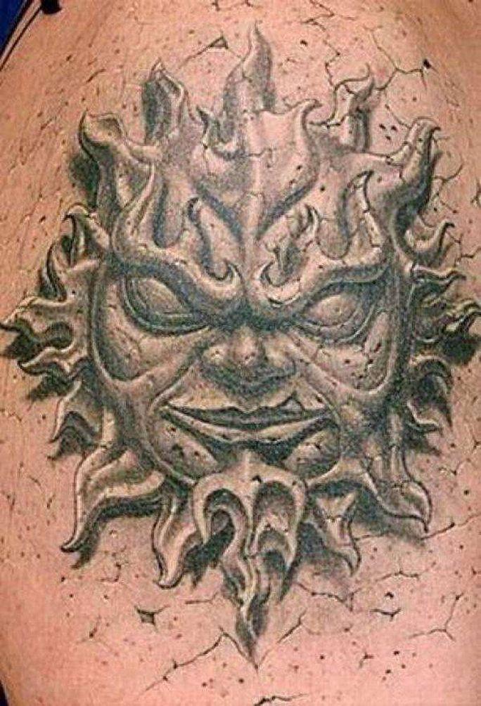 Крутые 3D татуировки