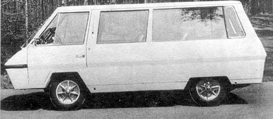Экспериментальные авто-разработки СССР