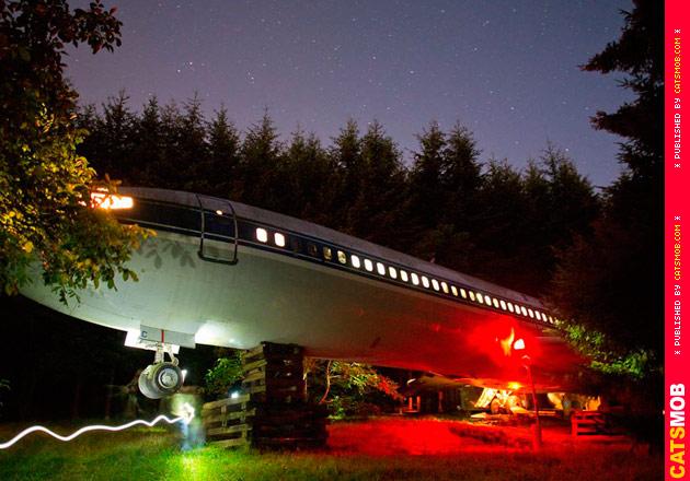 Дом в Boeing 727