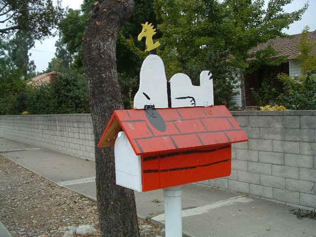 Смешные и странные почтовые ящики