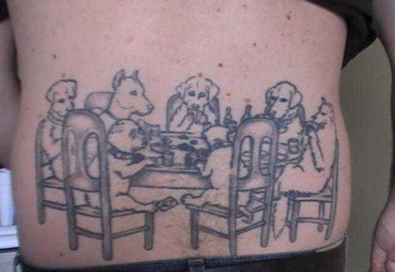 Дурацкие татуировки