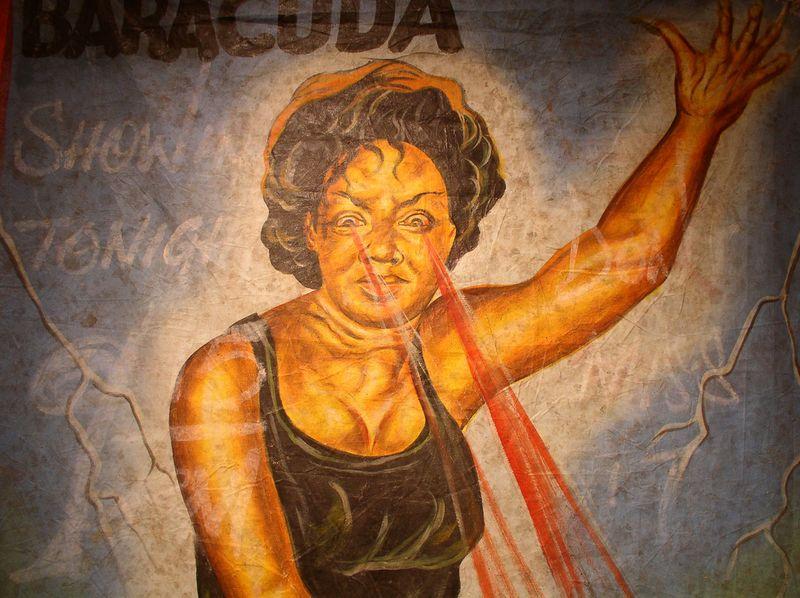 Плакаты к нигерийским фильмам ужасов