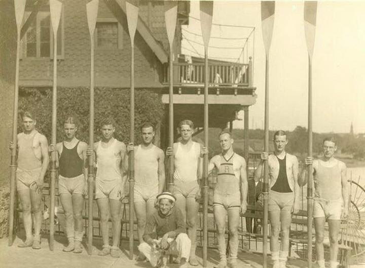 Спортсмены из прошлого