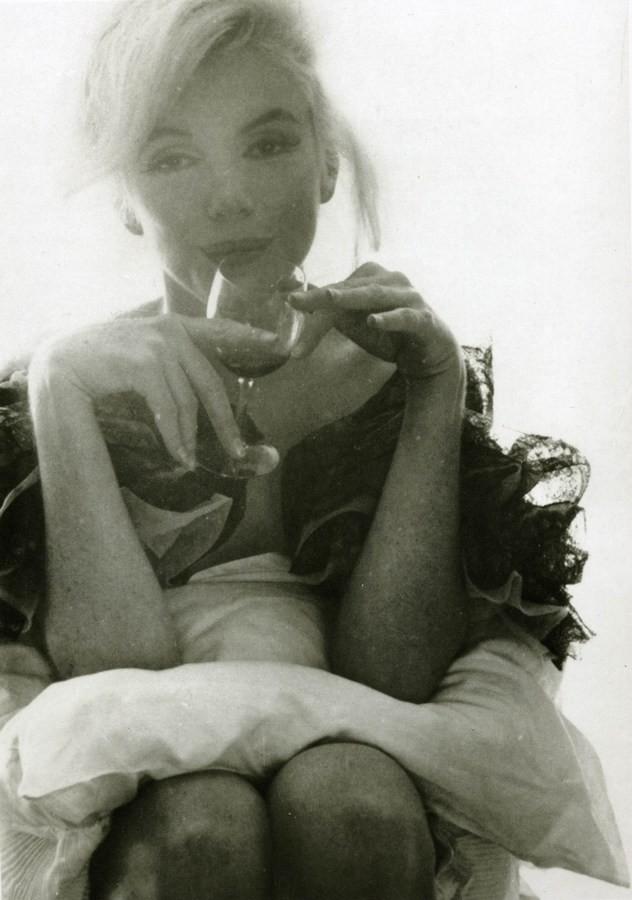 Последняя фотосессия Мерлин Монро