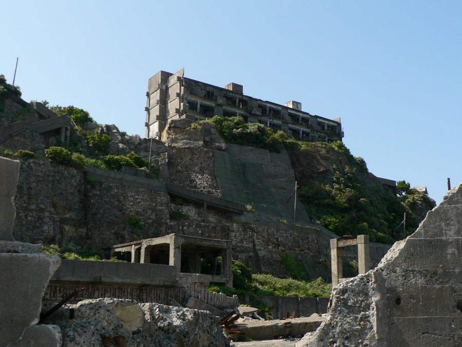 Заброшенный город-остров Хасима