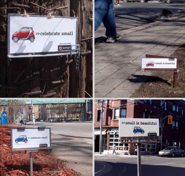 Необычные рекламные билборды со всего мира