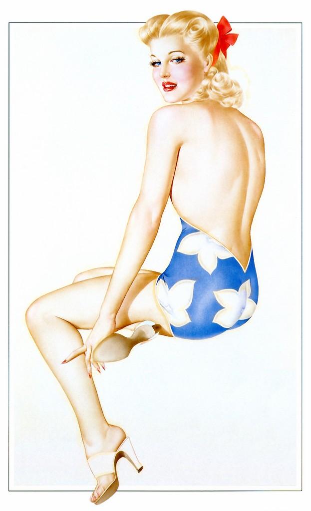 Pin-up Art Альберто Варгаса