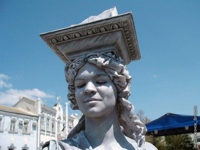 Живые скульптуры